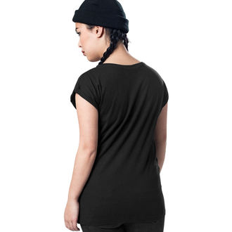 tee-shirt métal pour femmes AC-DC - Voltage - URBAN CLASSICS, URBAN CLASSICS, AC-DC
