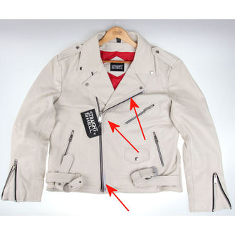 veste en cuir - Commando Wht - STRAIGHT TO HELL, STRAIGHT TO HELL
