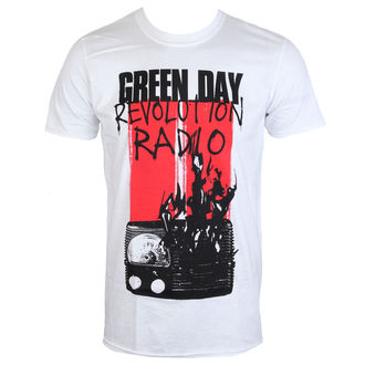 tee-shirt métal pour hommes Green Day - RADIO COMBUSTION - PLASTIC HEAD, PLASTIC HEAD, Green Day
