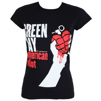 tee-shirt métal pour femmes Green Day - AMERICAN IDIOT - PLASTIC HEAD, PLASTIC HEAD, Green Day