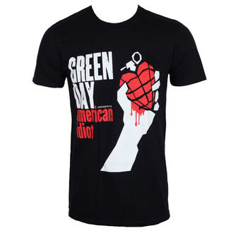 tee-shirt métal pour hommes Green Day - AMERICAN IDIOT - PLASTIC HEAD, PLASTIC HEAD, Green Day