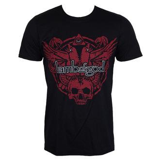 tee-shirt métal pour hommes Lamb of God - SNAKE AND EAGLE - PLASTIC HEAD, PLASTIC HEAD, Lamb of God