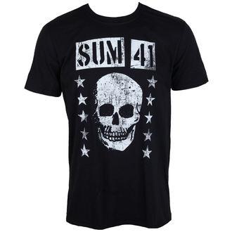 tee-shirt métal pour hommes Sum 41 - GRINNING SKULL - PLASTIC HEAD, PLASTIC HEAD, Sum 41
