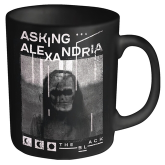 Mug ASKING ALEXANDRIA - THE BLACK - PLASTIC HEAD, PLASTIC HEAD, Asking Alexandria