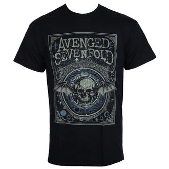 tee-shirt métal pour hommes Avenged Sevenfold - ORNATE DEATH BAT - PLASTIC HEAD, PLASTIC HEAD, Avenged Sevenfold