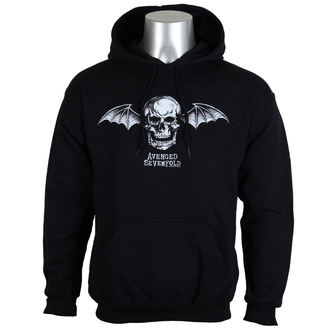 sweat-shirt avec capuche pour hommes Avenged Sevenfold - DEATH BAT LOGO - PLASTIC HEAD - RTAVS007