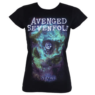 tee-shirt métal pour femmes Avenged Sevenfold - SPACE FACE - PLASTIC HEAD, PLASTIC HEAD, Avenged Sevenfold