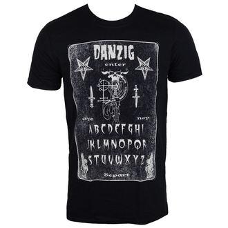 tee-shirt métal pour hommes Danzig - OUIJA BOARD - PLASTIC HEAD, PLASTIC HEAD, Danzig