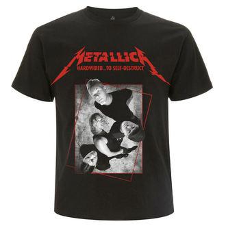 tee-shirt métal pour hommes Metallica - Hardwired Band Concrete -, Metallica