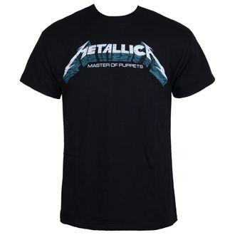tee-shirt métal pour hommes Metallica - Master of Puppets Blue Poster -, Metallica