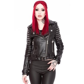 veste en cuir pour femmes - Baphomet - KILLSTAR - K-JKT-F-2134
