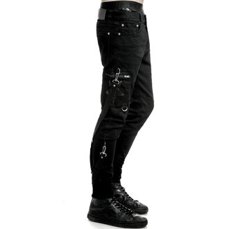pantalon pour des hommes KILLSTAR - Death Trap - Noir, KILLSTAR