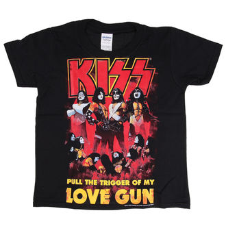 tee-shirt métal pour hommes enfants Kiss - Love Gun - LOW FREQUENCY, LOW FREQUENCY, Kiss