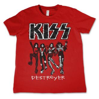 tee-shirt métal pour hommes enfants Kiss - Destroyer - HYBRIS, HYBRIS, Kiss