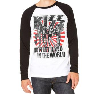 tee-shirt métal pour hommes Kiss - Hottest Band In The World - HYBRIS, HYBRIS, Kiss
