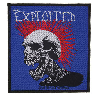 patch LA EXPLOITED - MOHICAN MULTICOLOUR - RAZAMATAZ, RAZAMATAZ, Exploited