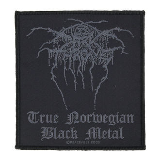 patch DARKTHRONE - TRUE NORWEGIAN BLACK METAL - RAZAMATAZ