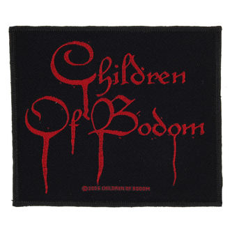 patch CHILDREN OF BODOM - BLOOD LOGO - RAZAMATAZ, RAZAMATAZ, Children of Bodom