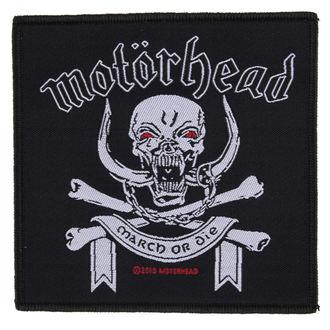 patch Motörhead - March ör Die - RAZAMATAZ, RAZAMATAZ, Motörhead