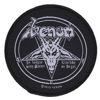 patch VENOM - IN LEAGUE WITH SATAN - RAZAMATAZ, RAZAMATAZ, Venom
