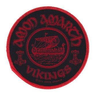 patch AMON AMARTH - VIKINGS CIRCULAR - RAZAMATAZ, RAZAMATAZ, Amon Amarth
