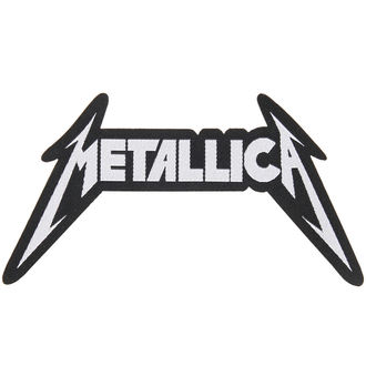 patch METALLICA - SHAPED LOGO - RAZAMATAZ, RAZAMATAZ, Metallica