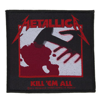 patch Metallica - Kill 'Em All - RAZAMATAZ, RAZAMATAZ, Metallica