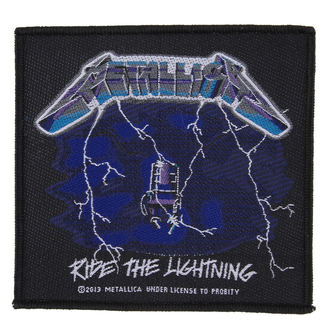patch METALLICA - RIDE THE LIGHTNING - RAZAMATAZ, RAZAMATAZ, Metallica