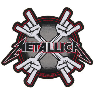 patch METALLICA - METAL HORNS - RAZAMATAZ, RAZAMATAZ, Metallica