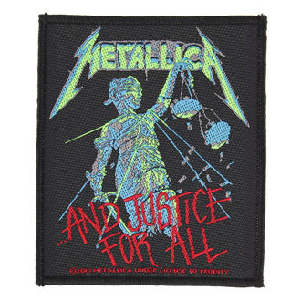 patch METALLICA - AND JUSTICE FOR ALL - RAZAMATAZ, RAZAMATAZ, Metallica