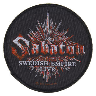 patch SABATON - SWEDISH EMPIRE LIVE - RAZAMATAZ, RAZAMATAZ, Sabaton