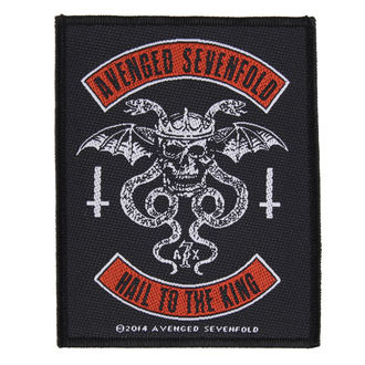patch AVENGED SEVENFOLD - BIKER - RAZAMATAZ, RAZAMATAZ, Avenged Sevenfold