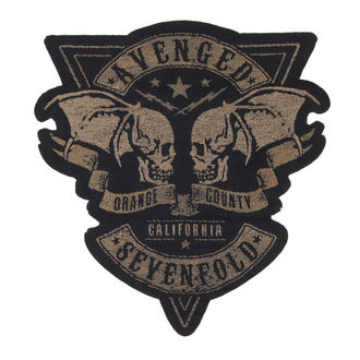 patch AVENGED SEVENFOLD - ORANGE COUNTY CUT OUT - RAZAMATAZ, RAZAMATAZ, Avenged Sevenfold