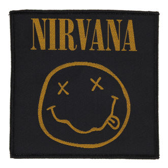 patch NIRVANA - SMILEY - RAZAMATAZ, RAZAMATAZ, Nirvana