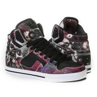 chaussures de tennis montantes pour femmes unisexe - Clone Huit/Zombie - OSIRIS, OSIRIS