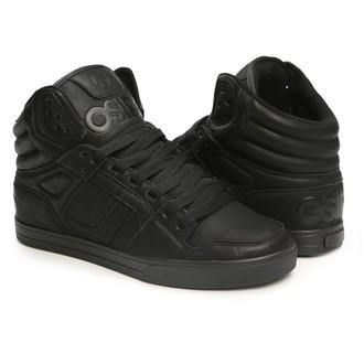 chaussures de tennis montantes pour femmes unisexe - Clone Black/Metal - OSIRIS, OSIRIS