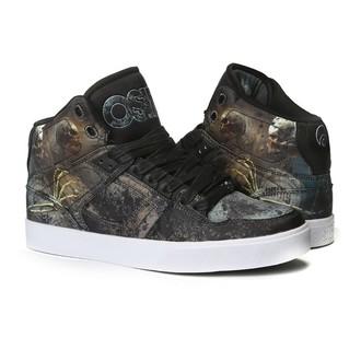 chaussures de tennis montantes pour femmes unisexe - Nyc 83 Vulc Huit/Skull/Army - OSIRIS, OSIRIS