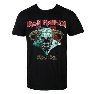 tee-shirt métal pour hommes Iron Maiden - Legacy of the Beast European Tour 2018 - ROCK OFF, ROCK OFF, Iron Maiden