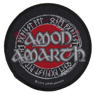 patch AMON AMARTH - RUNES - RAZAMATAZ, RAZAMATAZ, Amon Amarth