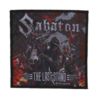 patch SABATON - THE LAST STAND - RAZAMATAZ, RAZAMATAZ, Sabaton