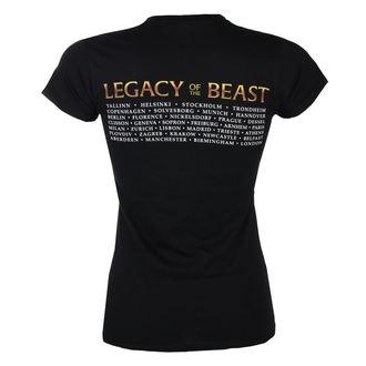 tee-shirt métal pour femmes Iron Maiden - Legacy of the Beast European Tour 2018 - ROCK OFF, ROCK OFF, Iron Maiden
