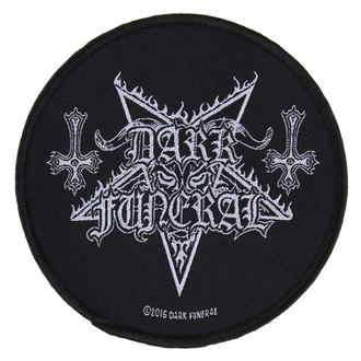 patch DARK FUNERAL - CIRCULAR LOGO - RAZAMATAZ, RAZAMATAZ, Dark Funeral