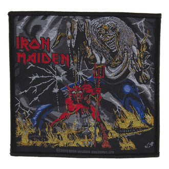 patch IRON MAIDEN - NUMBER OF THE BEAST - RAZAMATAZ, RAZAMATAZ, Iron Maiden