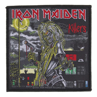 patch IRON MAIDEN - KILLERS - RAZAMATAZ, RAZAMATAZ, Iron Maiden