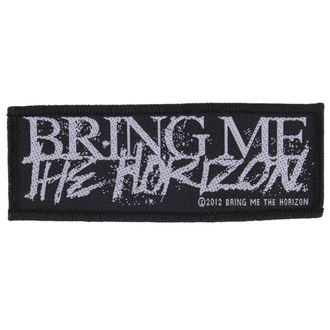 patch BRING ME THE HORIZON - HORROR LOGO - RAZAMATAZ, RAZAMATAZ, Bring Me The Horizon