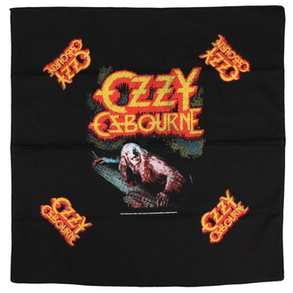 foulard OZZY OSBOURNE - BARK AT THE MOON - RAZAMATAZ, RAZAMATAZ, Ozzy Osbourne