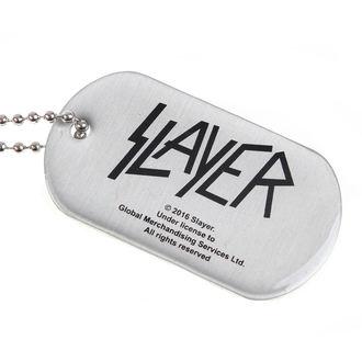 collier (chien étiquette) SLAYER - WEHRMACHT SKULL - RAZAMATAZ, RAZAMATAZ, Slayer