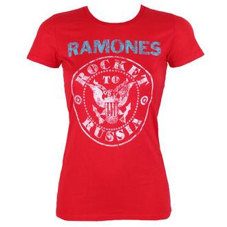 tee-shirt métal pour femmes Ramones - ROCKET RUSSIA - BRAVADO, BRAVADO, Ramones