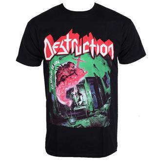 tee-shirt métal pour hommes Destruction - Cracked Brain - NNM, NNM, Destruction