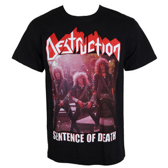 tee-shirt métal pour hommes Destruction - Sentence Of Death - MASSACRE RECORDS, MASSACRE RECORDS, Destruction